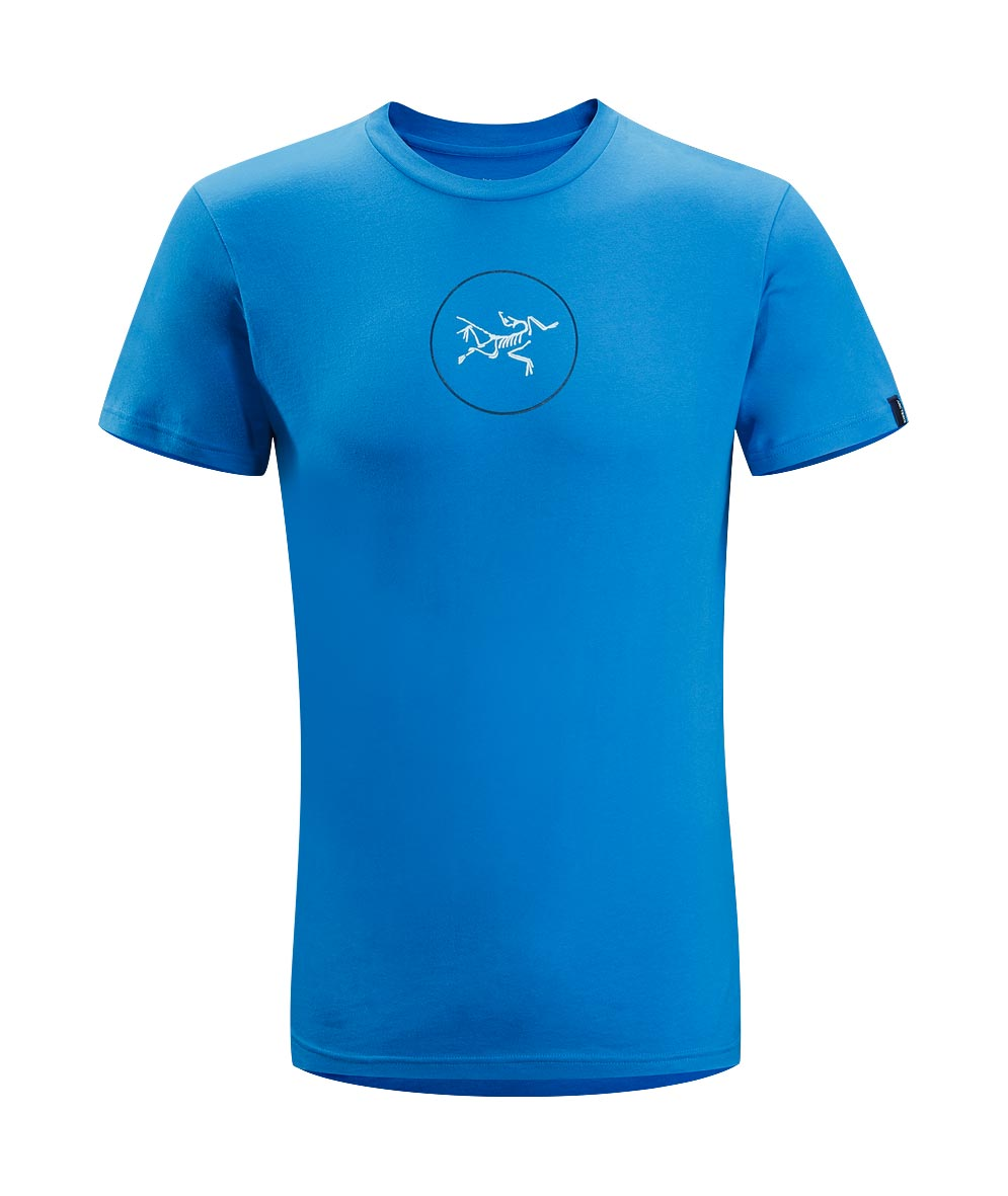 Arcteryx Blue Ray Circle Logo T-Shirt - New